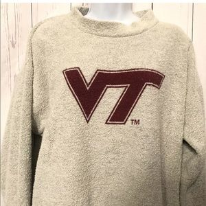 Woolly Threads Virginia Tech Oversized Sweatshirt